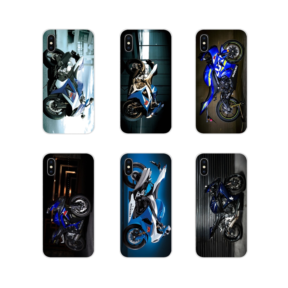 Mobile Phone Bag Case For Xiaomi Redmi 4A S2 Note <font><b>3</b></font> 3S 4 4X 5 Plus 6 <font><b>7</b></font> 6A Pro Pocophone F1 Suzuki Gsxr <font><b>1000</b></font> 2016 Motorcycle Logo image