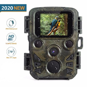 MINI Chasse Hunting Camera 16MP 1080P Full HD Wildlife Scout Camera with Night Vision Hunting Game Camera Photo Traps Hunter Cam