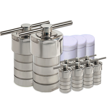 Stainless Steel Hydrothermal Autoclave Reactor + Chamber Synthesis 10ml,20ml, 25ml,100ml,200ml,300ml