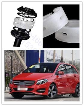 PUOU Car Shock Absorber Spring Bumpers Power 2 Pcs Auto-Buffers For Benz B V G Class GLC SLK Type Cushion Buffer free Shipping