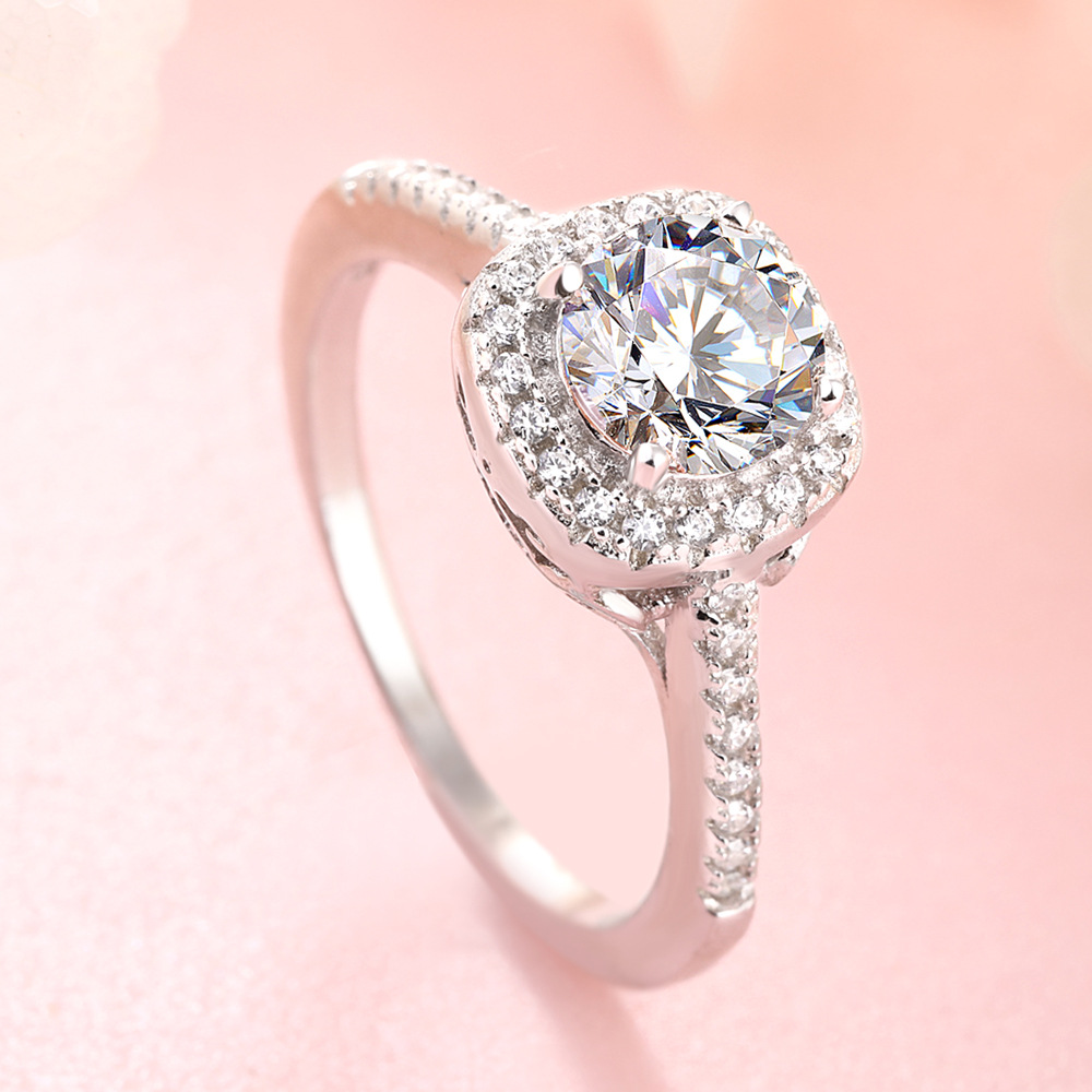 Forefinger Retro Ring Female Fashion Exaggerates Customized 925 Pure Silver For Wedding  Design Hot Sale Rings  Engagement
