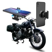 אופנוע אופניים טלפון מחזיק עבור טלפון סמסונג אוניברסלי נייד טלפון סלולרי בעל אופני כידון קליפ Stand GPS הר Bracket