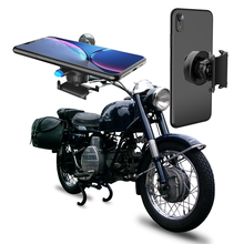Motorcycle Bicycle Phone Holder For Phone Samsung Universal Mobile Cell Phone Holder Bike Handlebar Clip Stand GPS Mount Bracket