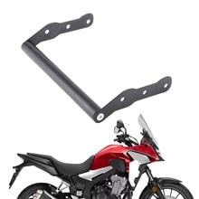 Лобовое стекло мотоцикла gps навигация мобильного телефона кронштейн для Honda CB500X