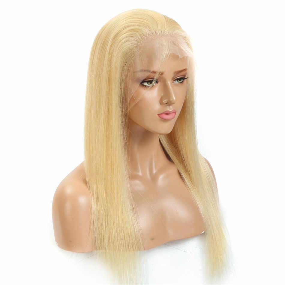 Pelucas delanteras de encaje de Bob Rubio 613 y Peluca de pelo humano Remy brasileña de color negro Natural 1B 13x4 Lsce pelucas cortas frontales