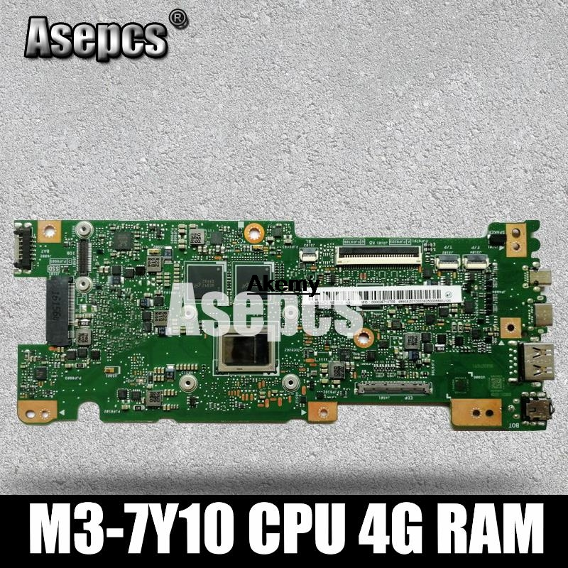 Asepcs UX330CAK 4GB/RAM M3-7Y30 CPU For ASUS ZenBook UX330CA UX330C UX330 Laptop Motherboard Tested 100% Work Original Mainboard