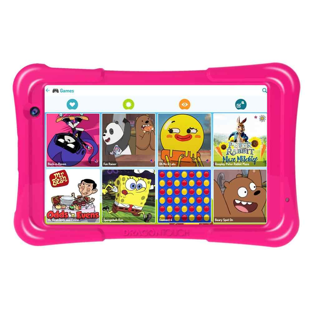 2019 تابلت التنين اللمس Y80 للأطفال تابلت 8 بوصة HD عرض أندرويد تابلت للأطفال 16 جيجابايت رباعي النواة 1.5GHz USB أندرويد 8.1 تابلت