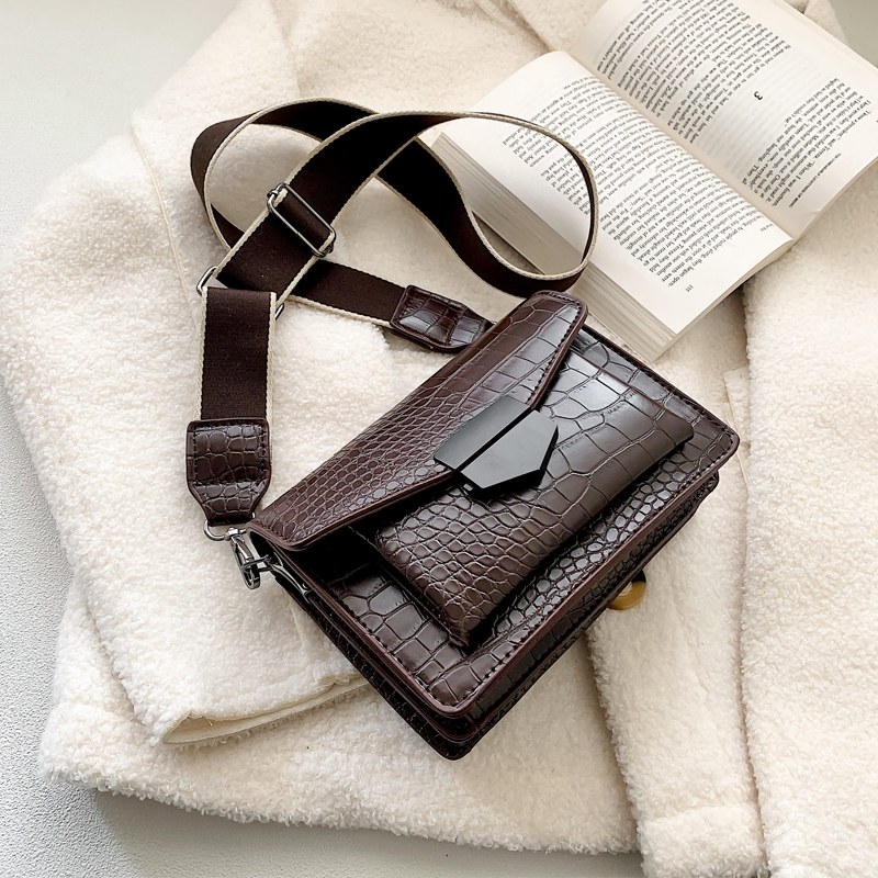 Stone Pattern PU Leather Crossbody Bags For Women 2020 Mini Shoulder Messenger Bag Female Travel Handbags And Purses