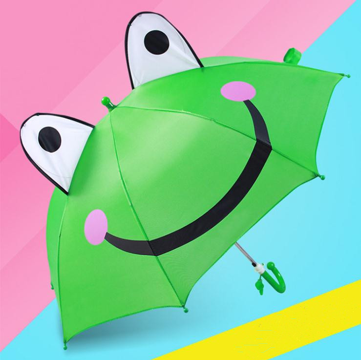 Rains Pan Cartoon Zombies Printed Manually Foldable Anti-UV Double Layer Umbrella