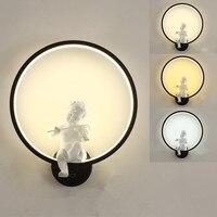 Europeu estilo personalidade criativa lâmpada de parede do corredor da escada lâmpadas nordic lâmpada de cabeceira americano moderno quarto lâmpada de parede|Luminárias de parede| |  -