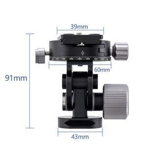 Image 4 - อลูมิเนียม 360 องศาขาตั้งกล้องถ่ายภาพพาโนรามาดูนกพร้อมQuick Releaseแผ่นสำหรับSirui L10 RRS MH 02