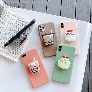 3D милый мягкий чехол для телефона Cartoo Drink Bottle cola для iphone X, XR, XS, 11 Pro, Max, 6 S, 7, 8 plus, чехол-держатель для samsung S8, S9, S10