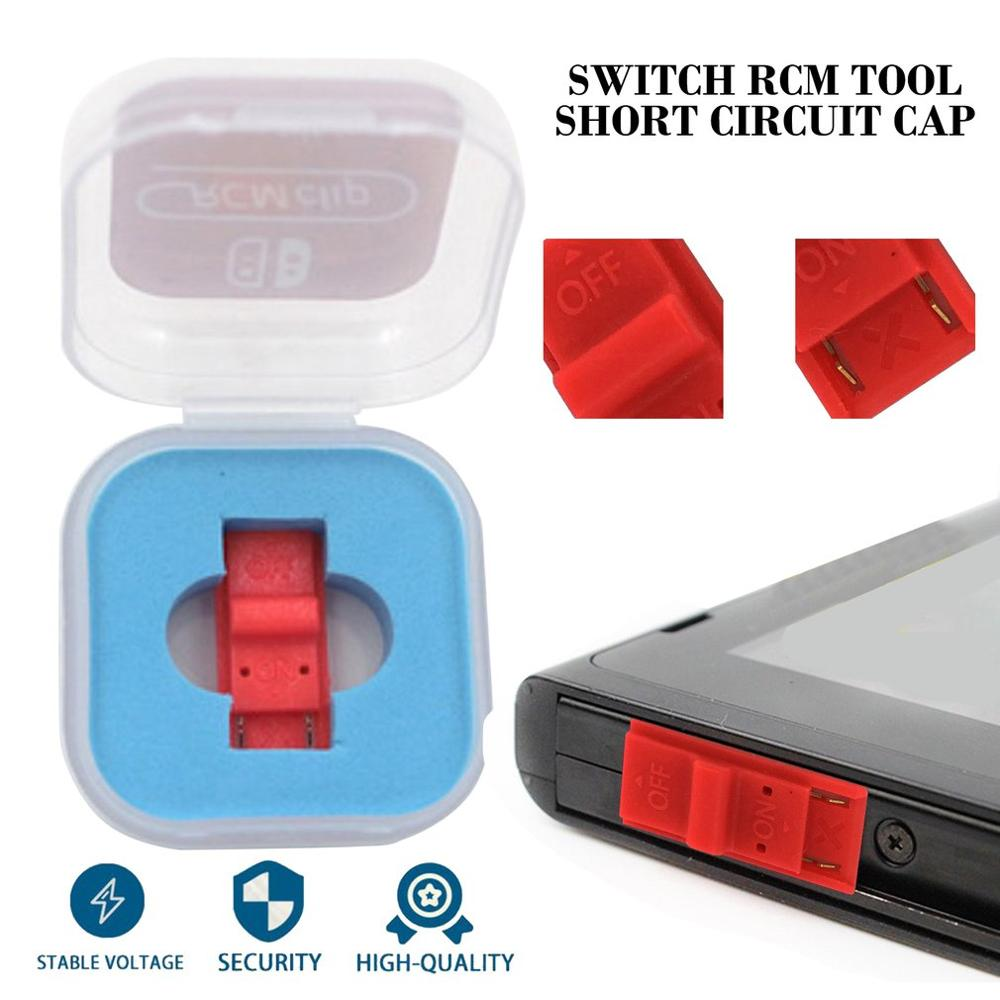 T003RCM Short Circuit Recovery Mode Plastic Jig Tool Clip For Nintend Switch RCM / NS SX OS Short Circuit Tools DN Paper