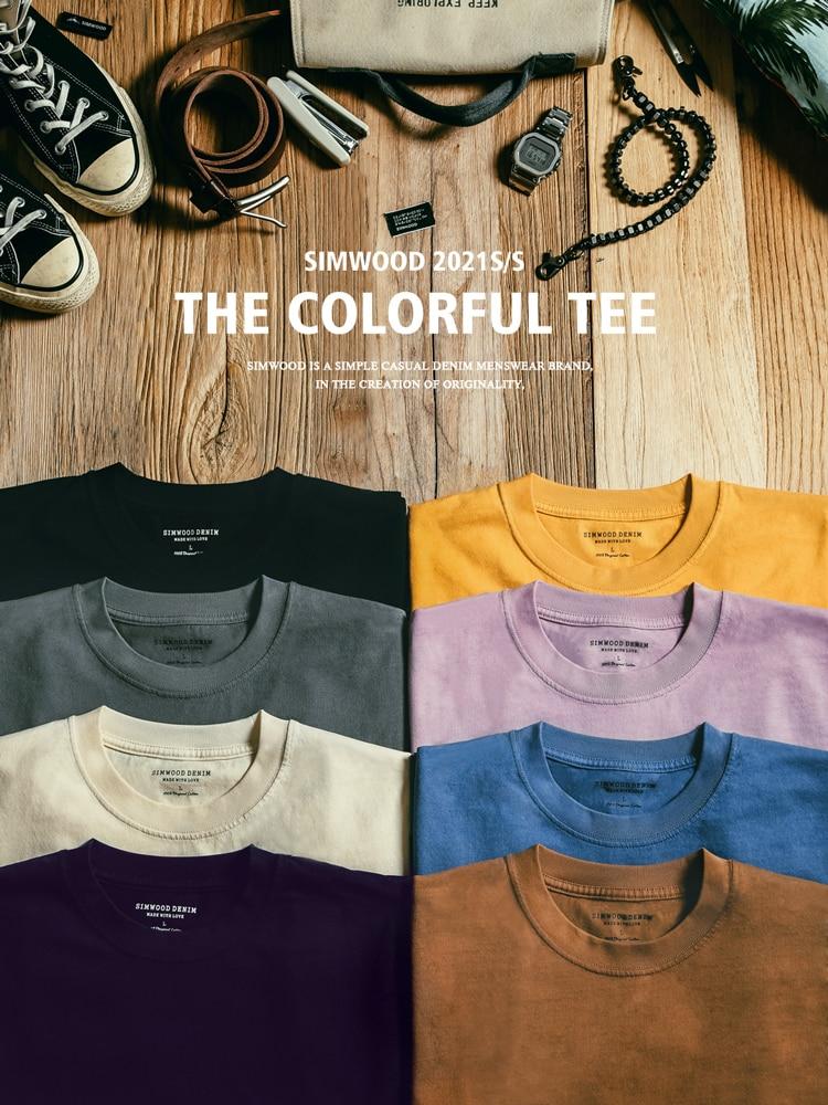 2021 Summer Cotton Fabric T-shirt
