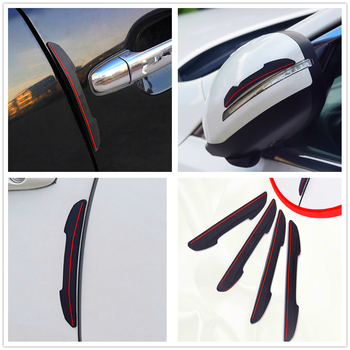 Car Anti-Collision Door Strip crash Bumper For BMW E34 F10 F20 E92 E38 E91 E53 E70 X5 M M3 E46 E39 E38 E90 M140i 530i 128i image