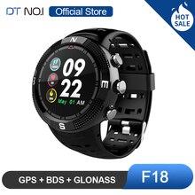 DTN O.I NO.1 F18 GPS BDS GLONASS 3 satelity globalny System pozycjonowania tętno bluetooth 4.2 inteligentny zegarek sportowy Smartwatch