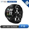 DTNO. EU N ° 1 F18 Sistema de Satélites de Posicionamento Global GPS GLONASS BDS 3 Blue tooth 4.2 Esporte da Frequência Cardíaca Relógio Inteligente Smartwatch