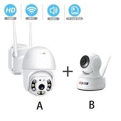 Besder completa hd 1080 p câmera ip sem fio câmera de segurança em casa monitor do bebê visão noturna áudio ptz wifi câmera cctv vigilância