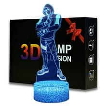 Magiclux Ikonik Model 3D illusion Lamp AA Batteries USB Available Battle Royale Decoration Night Lights