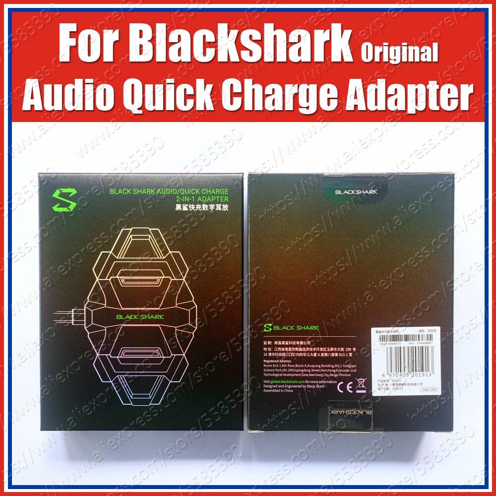BQE01 27W PD Type C Original Black Shark Audio HiFi Quick Charge Hybrid Adapter DAC Headphone Amplifier For Black Shark 3 2 Pro