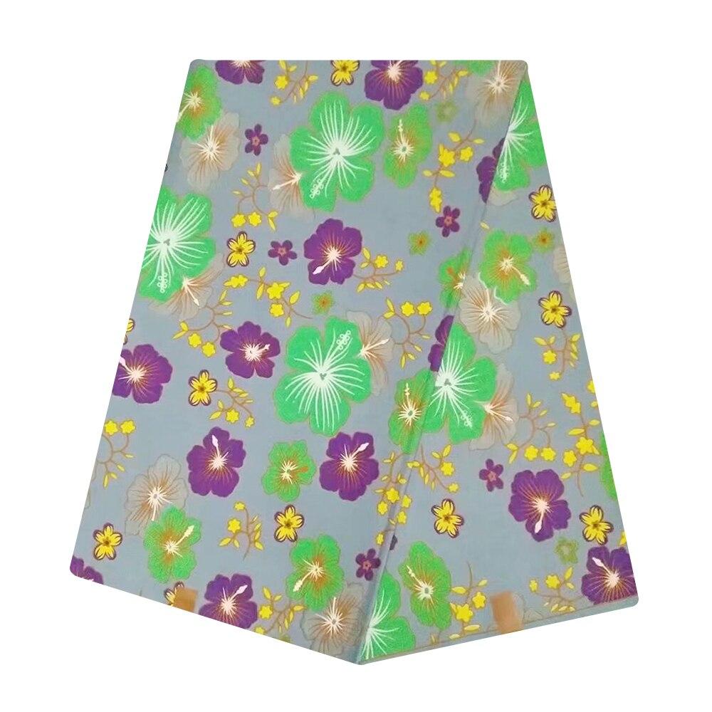 100% Cotton Ankara African Fabric Tulle Wax Africain Dutch Veritable Block Print Africa Super Wax Pange Fabric Nigerian Cloth