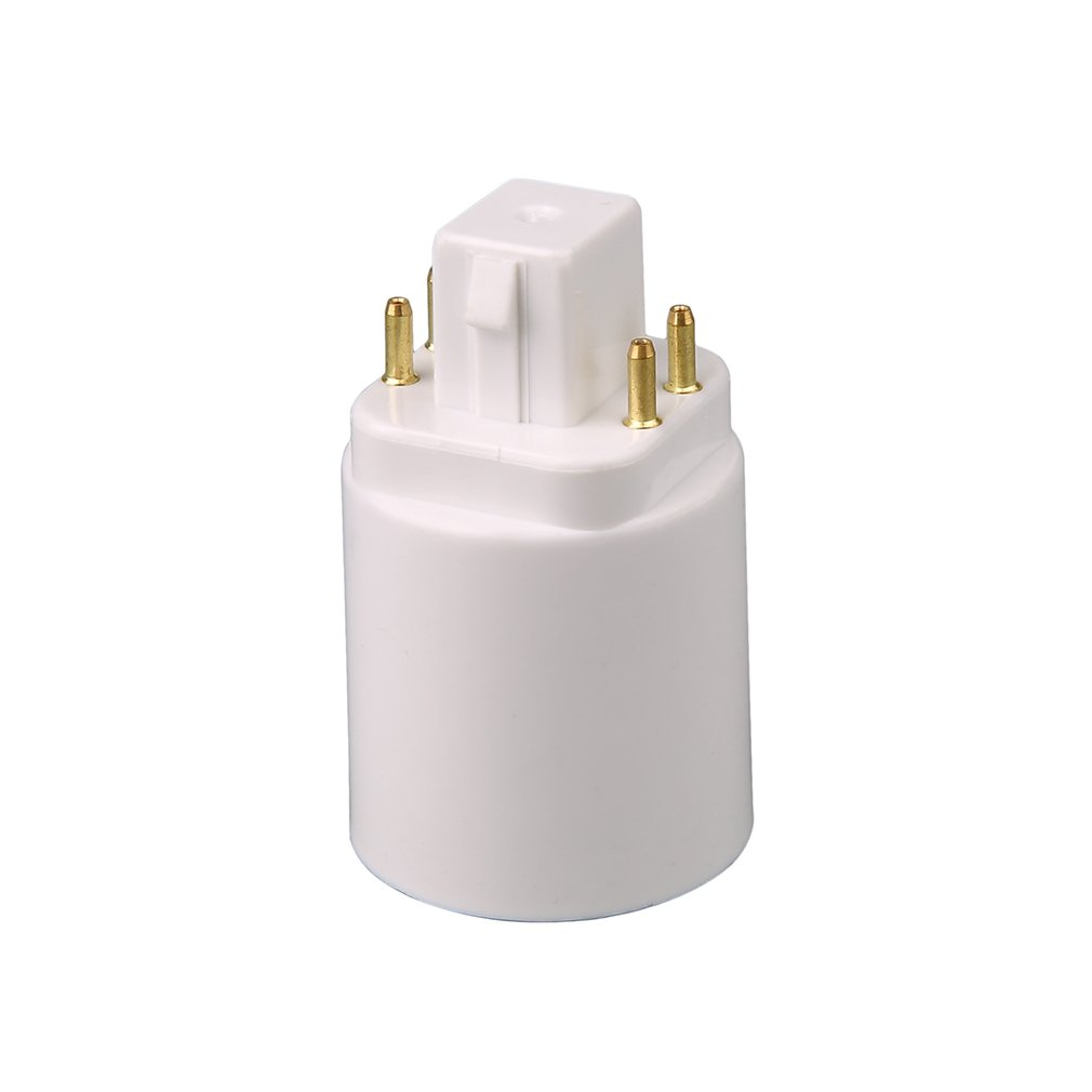 LED Light Lamp Adapter GX24Q To E27 Bulb Holder Socket Converter 4 Pin Screw-based Lamp Extender Base Socket