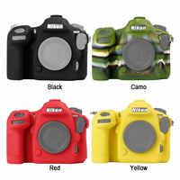 Coque peau Silicone armure appareil photo reflex numérique housse de protection sac vidéo pour Canon EOS R EOS RP Nikon D810 D7500 D500 D850 D800 Z7 Z6