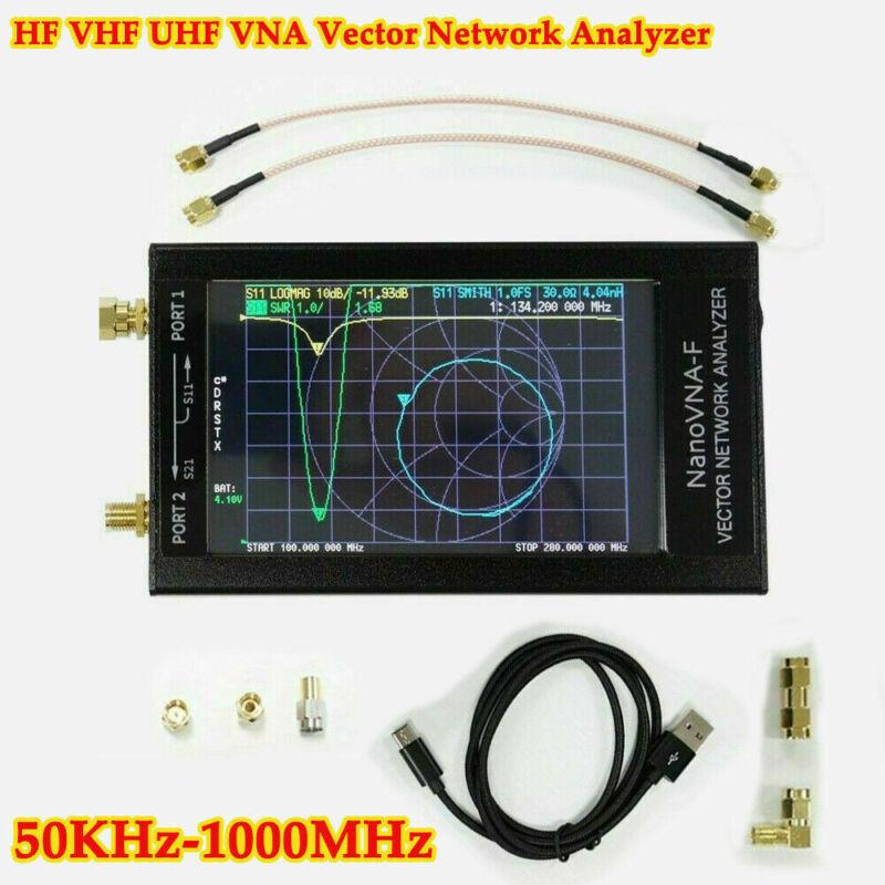 50KHz-1000MHz NanoVNA-F 2.8 LCD Display HF VHF UHF VNA Vector Network Analyzer