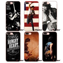 Phone Case Bruce Springsteen Guitar signed For iPhone X 4 4S 5 5S 5C SE 6 6S 7 8 Plus Samsung Galaxy J1 J3 J5 J7 A3 A5 2016 2017(China)