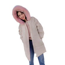 2019 new Women Parkas Very Warm  Winter Coat Fake Fur Hooded Jacket Thicken Down female
