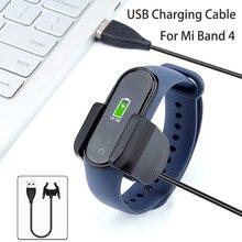 Для Xiaomi mi Band 4 usb зарядный кабель запасной переходник для зарядного устройства кабельный зажим mi Band 4 3 2 Аксессуары