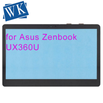 """Free shipping original 13.3""""Touch Screen Digitizer Glass Front Panel for Asus Zenbook UX360U UX360UA"""