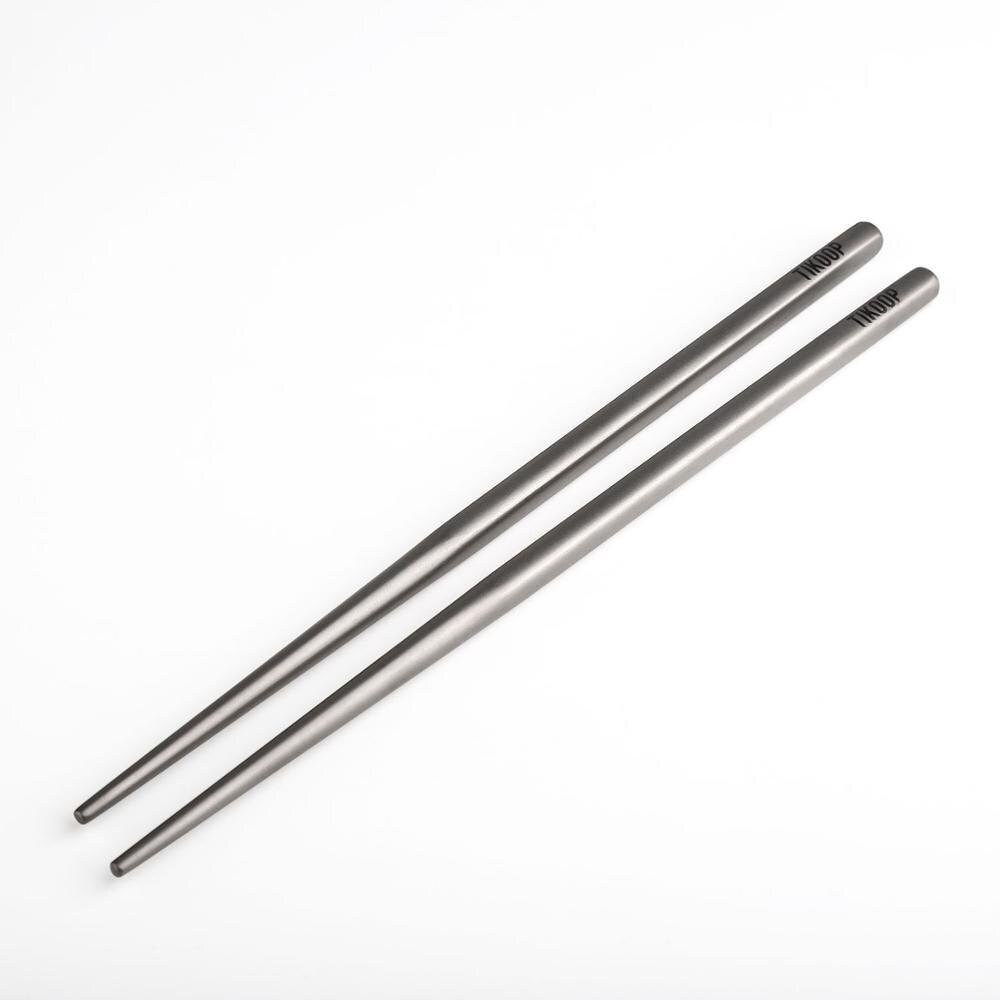 Keith Ti5625 Titanium Chopsticks Children Chopsticks Camping Cutlery  Gray