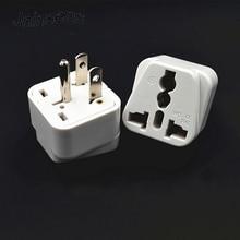 Uk/Us/Eu/Au Naar Ons Jp Ca Verenigde Staten Amerika Japan Canada Ca Usa 3 Pin reizen Power Adapter Plug Converter