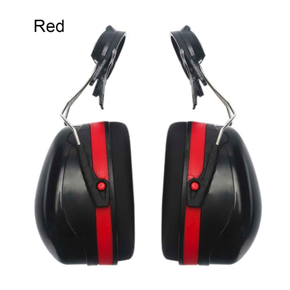 Noise Cancelling Helmet Attachable Ear Muffs Blocking Sound Reduction Ear Protection Mounted Headphone