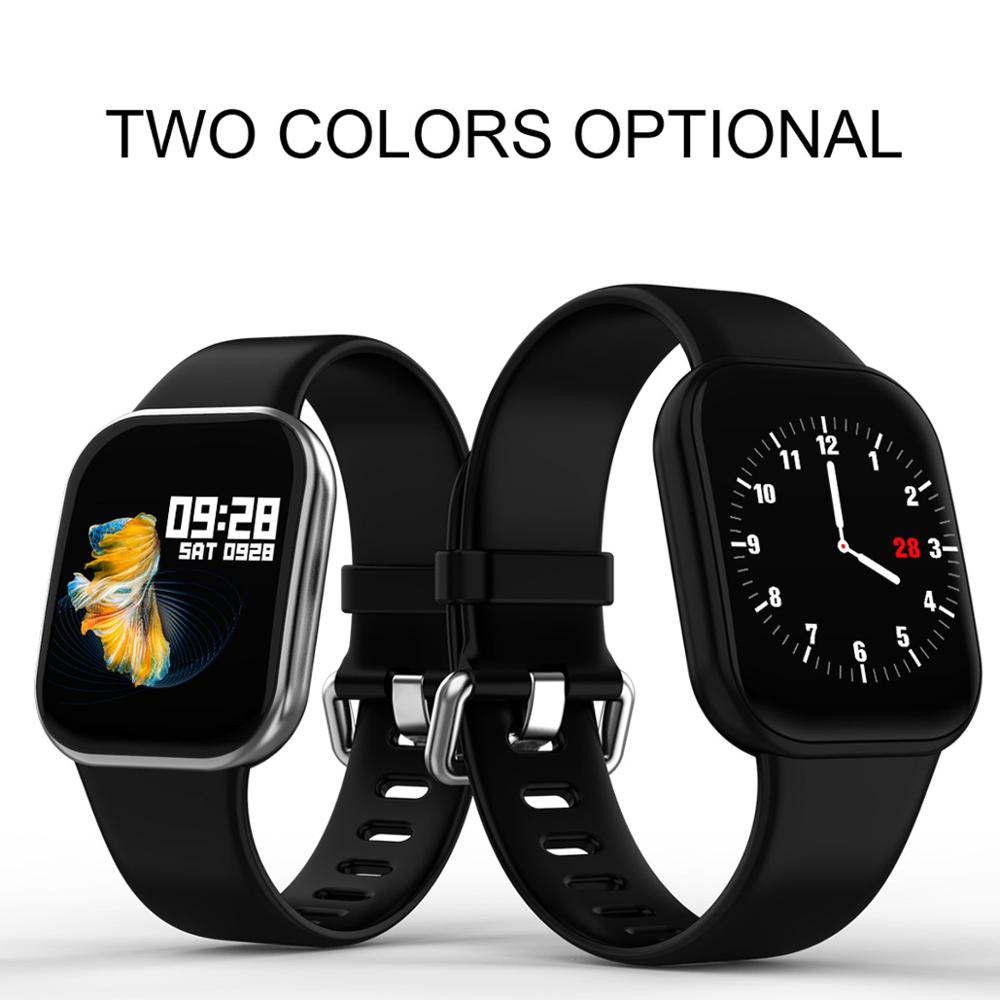 X16 Smart sport montre hommes femmes Fitness Tracker 1.3 pouces écran IP67 étanche moniteur de fréquence cardiaque pour tous les téléphones PK DZ09 A1