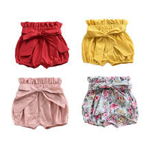 1 2 3 4 5 6 Years Shorts for Girls Toddlers Bloomers Baby Clothes  Kids Casual Pants Children Fashion Diaper Covers Panties