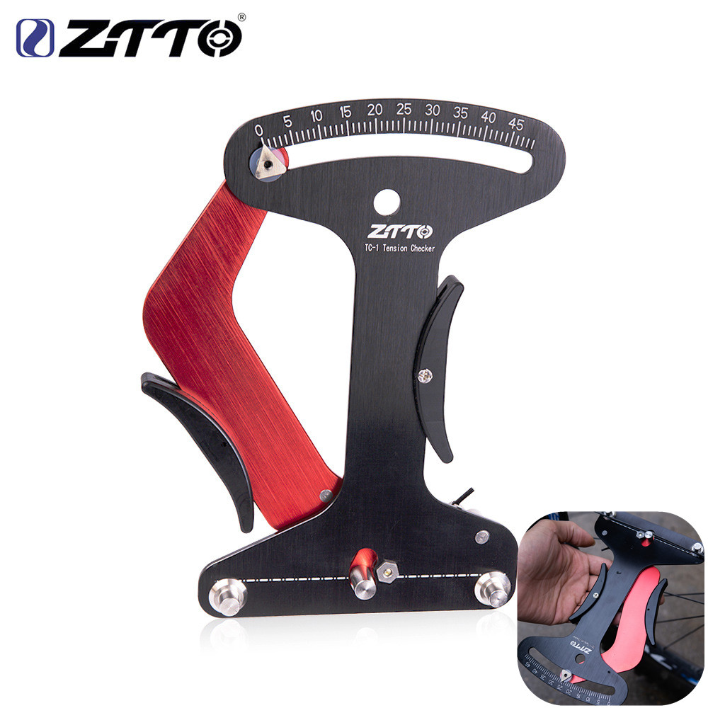 ZTTO bicycle tool spoke tension meter spoke radiation inspection indicator wire wheel set adjustment tool TM-1 competition