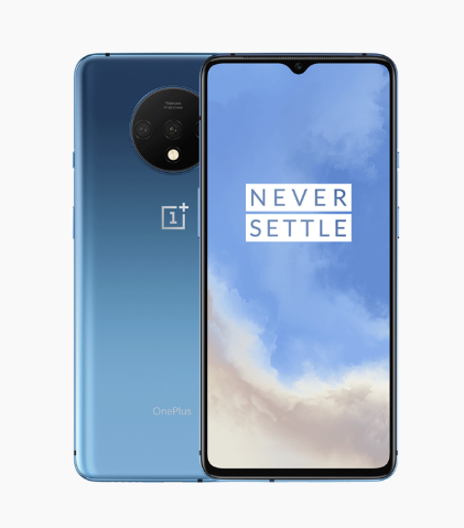 Oneplus 7T Global ROM Snapdrago 855 Plus Dual SIM 8GB RAM 128GB/256GB ROM UFS 3.0 48MP OIS 90Hz screen Play Store OTA Oneplus7T(China)