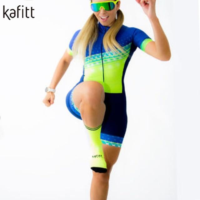Kafitt camisa de ciclismo feminino profissional triathlon collants macacão maillot ropa ciclismo macacão feminino conjunto verão 2