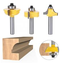 3Pcs Milling Cutter Cemented Carbide Router Bits Milling Cutter Accessories Woodworking Tools цена 2017