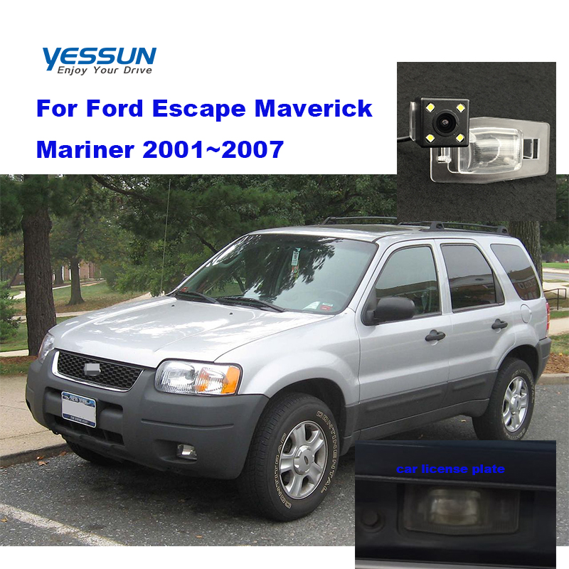 Yessun HD CCD Night Vision Car Rear View Reverse Backup Camera Waterproof For Ford Escape Maverick 2001~2007