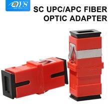 200 шт sc simplex волоконно оптический одномодовый адаптер с