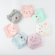 Baby Underwear 2PCS Boys Girls Cotton Training Pants Baby Diapers Reusable Panties Washable 0-24 Month Infants Underwear Shorts