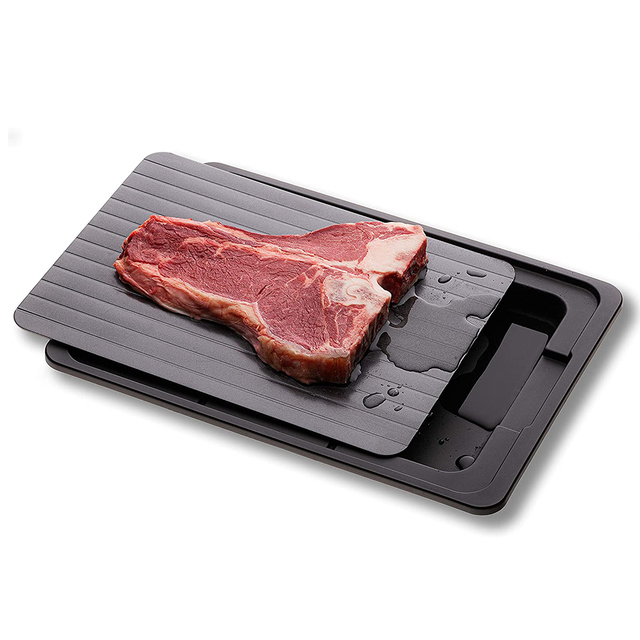 Fast Defrosting Tray planche decongelation Thaw Frozen Food Meat Fruit Quick Defrosting Plate Board Defrost T Kitchen Gadgets