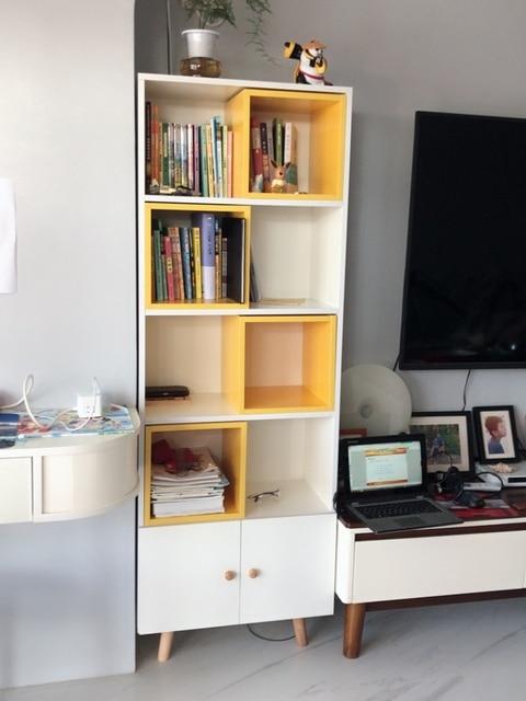 Credenza Side Corner Storage Cabinet  1
