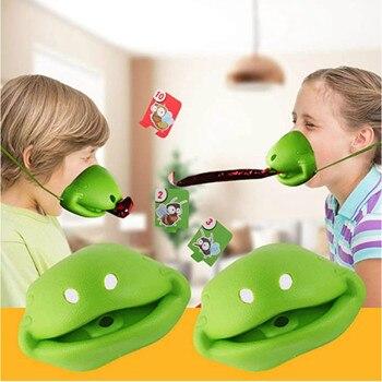 Tic-tac-juegos De lengua para niños, niñas, niños, adultos, fiesta, Juego De Mesa...