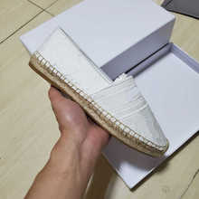 2020 summer casual shoes espadrilles women platform shoes flat High-quality luxury brand advanced embroidery vamp size 35-41 high quality smile face high vamp shoes