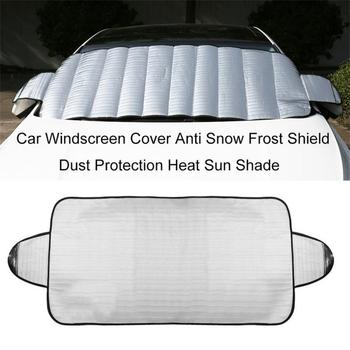 Car accessories Universal Car Windshield Cover Automobile Snow Ice Sunshade Shield Winter Windshield Visor Cover Dropshipping image