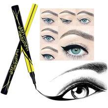2 Colors Black Eyeliner pencil For Eye Cosmetic Lady Waterproof Liquid Eyeliner Long-lasting Eye Liner Pencil Smooth MakeUp Tool